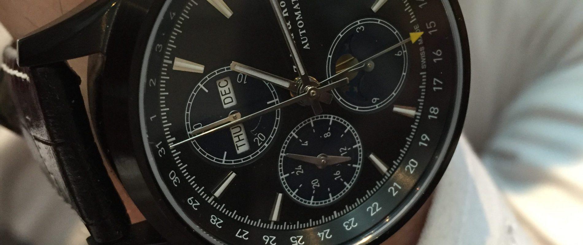 ZK No.1 Black Moon ETA Valjoux 7751