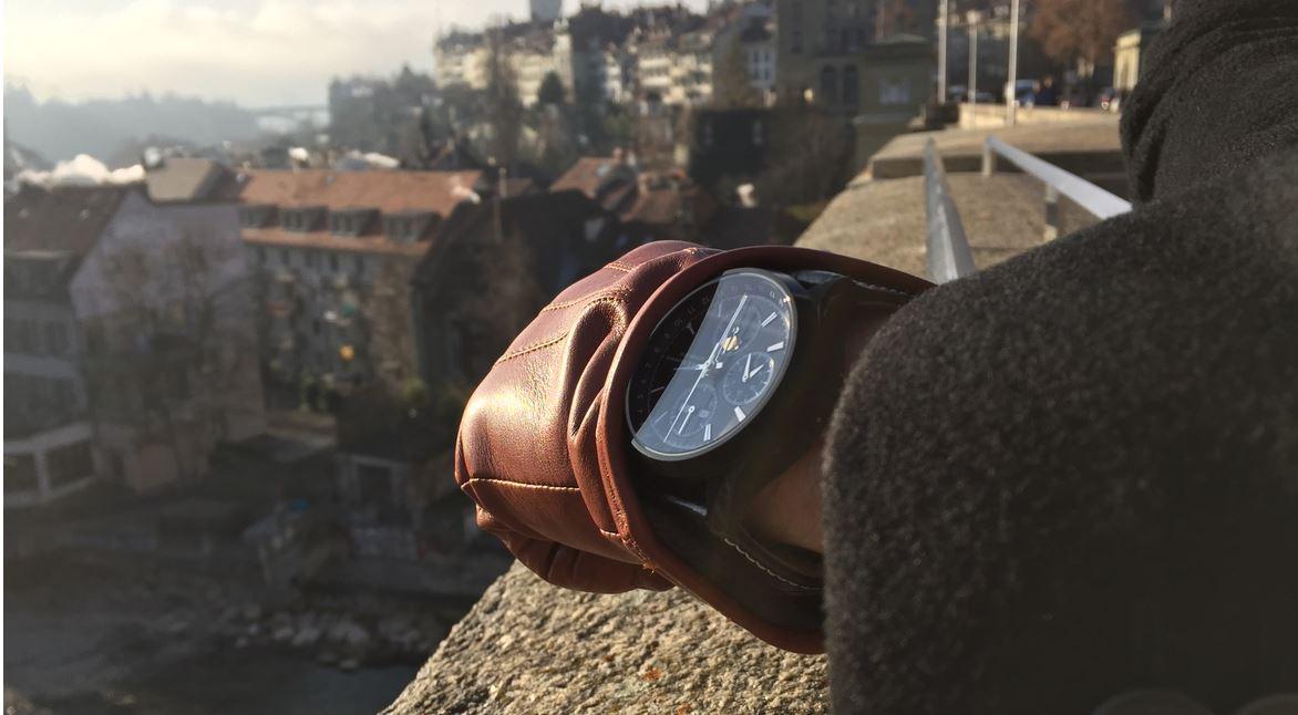 ZK No.1 - Black Moon Automatik Uhr mit Mondphase Chronograph und vollem Kalender