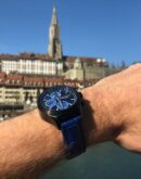 ZK No.1 - Blue Moon Black Series Automatik Uhr mit Mondphase Chronograph und vollem Kalender