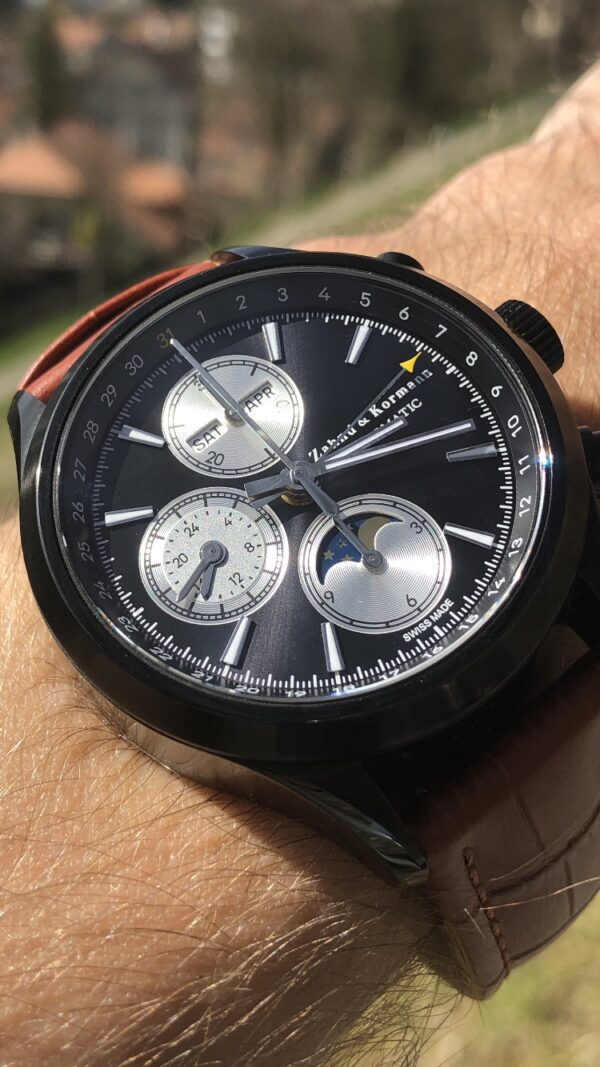 Swiss Made Automatic Moonphase Watch