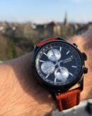 ZK No.1 - Lunar Eclipse Black Series Automatik Uhr mit Mondphase Chronograph und vollem Kalender