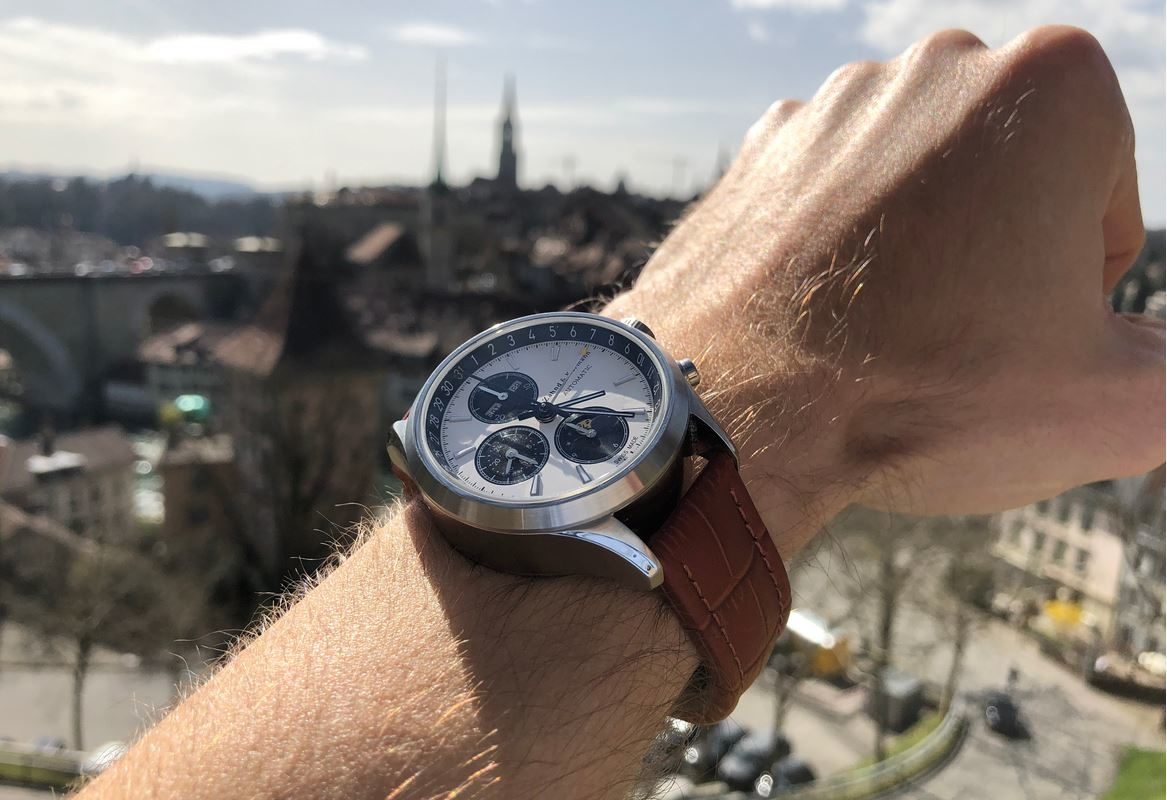 ZK No.1 - Solar Eclipse Automatic Watch with Moon Phase Chronograph and Full Calendar