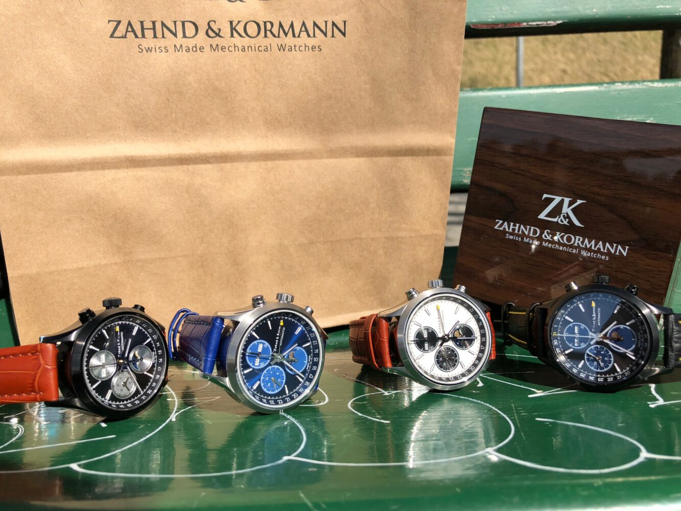Zahnd and Kormann Watch Collection