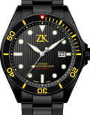 ZK No.2 Swiss Made Automatic Diver Watch Blak PVD