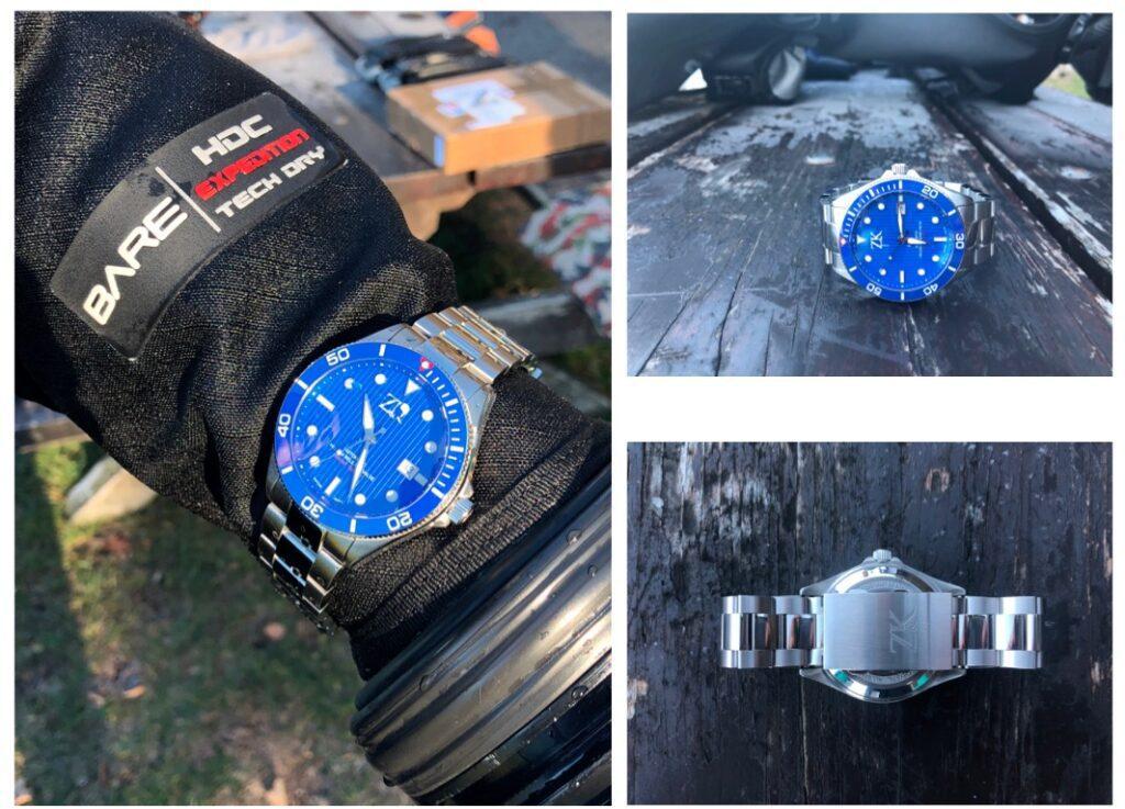 ZK No.2 Swiss Made Automatik GMT und Taucheruhren