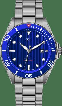Automatic Chronomoter Diver the blue