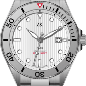 Automatic Chronomoter Diver the white