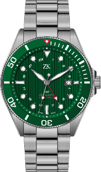 Automatic Chronomoter GMT the green