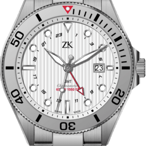 Automatic Chronomoter GMT the white