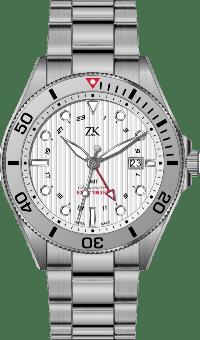 Automatic Chronomoter GMT the white