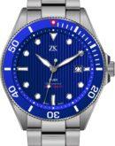 Automatic chronometer diver the blue