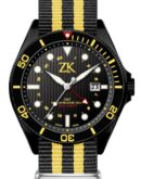 GMT Black and Yellow Nato Strap