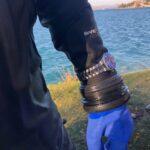 ZK No.2 The Blue Diver on a Divers Wrist