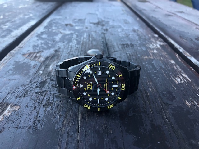 ZK No.2 Black and Yellow GMT