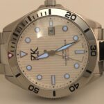 ZK No.2 Diver Watch the White Blue BGW9