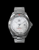 ZK No.2 Swiss Made Automatic Diver Watch The White