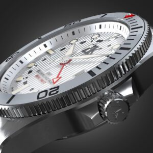 ZK No.2 Swiss Made Automatic GMT Watch The White