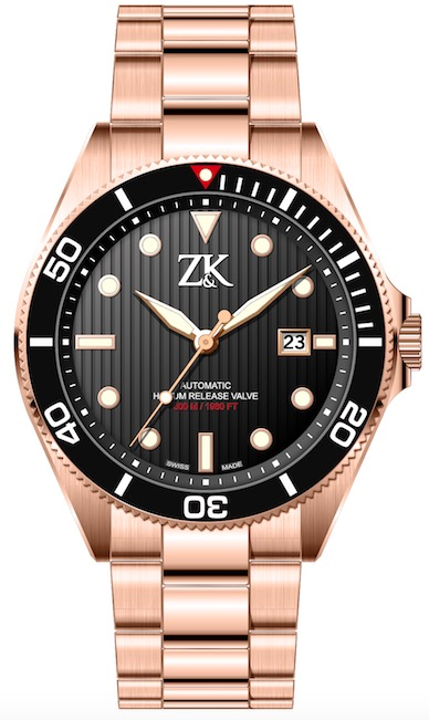 ZK No.2 Special Series Rosegold Diver