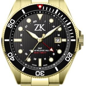 ZK No2. Special Series White Gold GMT