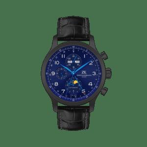 zahnd-und-kormann-automatikuhr-zk-1.2-blue-moon-in-schwarzem-gehaeuse-mit-blauen-zeigern